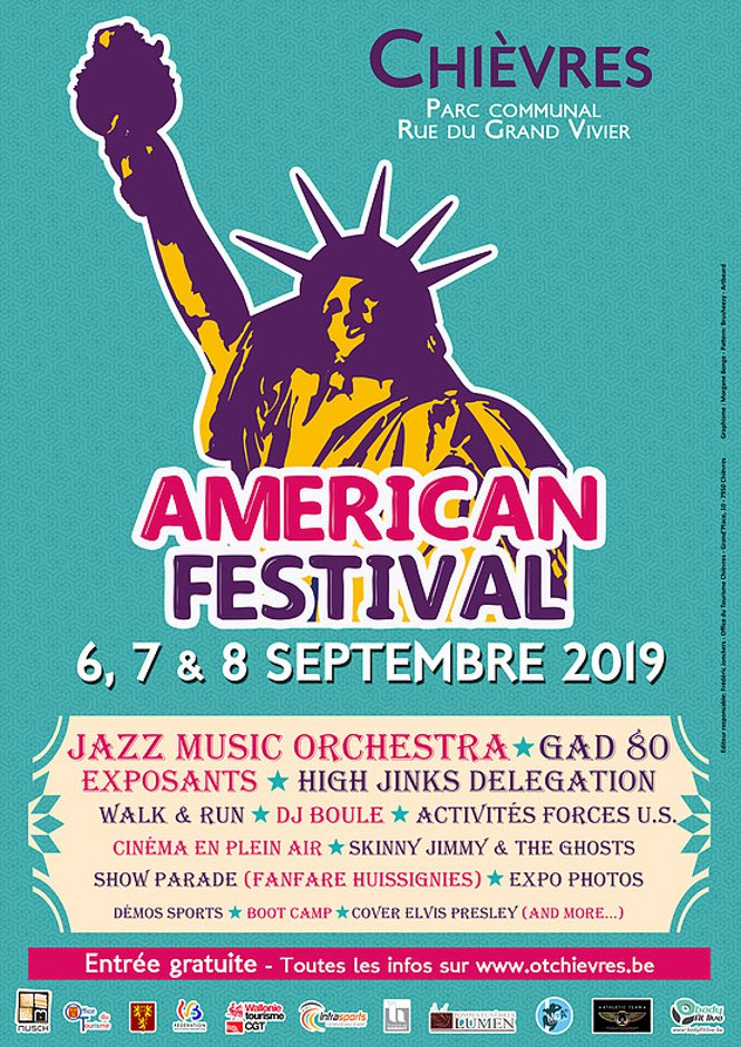 American Festival Chièvres 2019