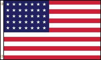 35 Stars Flag (4 juillet 1863 – 3 juillet 1865)