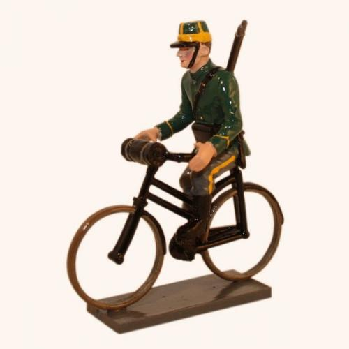 828 - Belgian 1st Carabinier Regiment Bicycling (WW1)