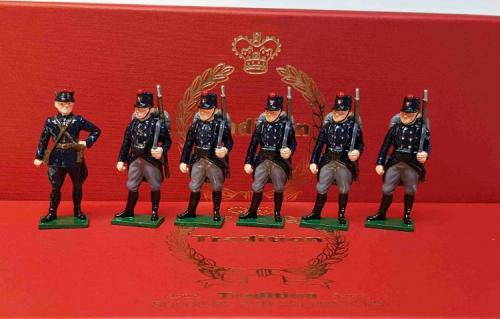 831 - Toy Soldier Set The Belgian Army at Second Battle of Ypres Painted - EN STOCK