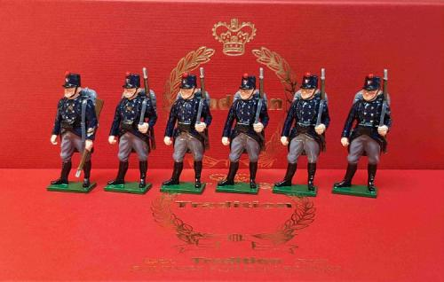 832 - Toy Soldier Set The Belgian Army at Second Battle of Ypres Painted - EN STOCK