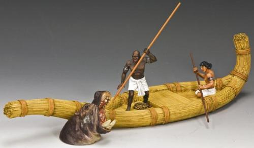 AE051 - Hunting the Hippo (Approx. Length of Boat 26cm)