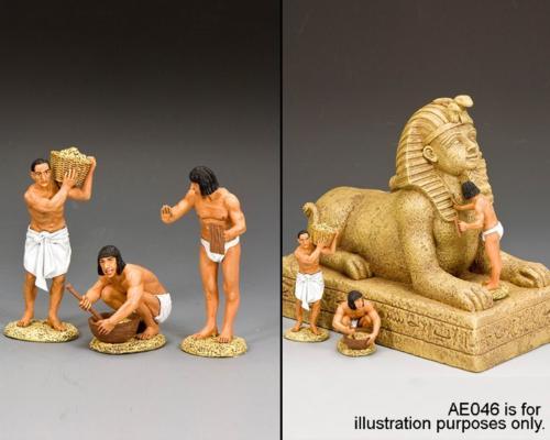 AE085 - The pyramid Plasterers Set