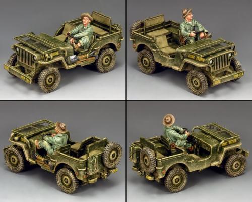 AF036 - U.S. Marine Corps Jeep