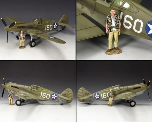 AF041 - Pearl Harbor P40 Tomahawk (édition limitée à 150 exemplaires)