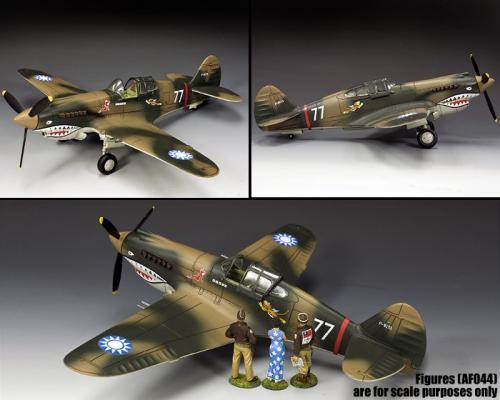 AF045 - The Flying Tigers P40 - disponible mi-novembre