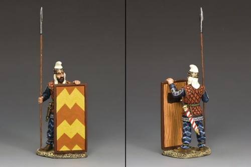 AG024 - Persian Spearman Standing Ready