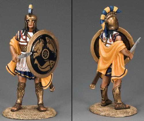 AG029 - Hoplite Soldier with Sword