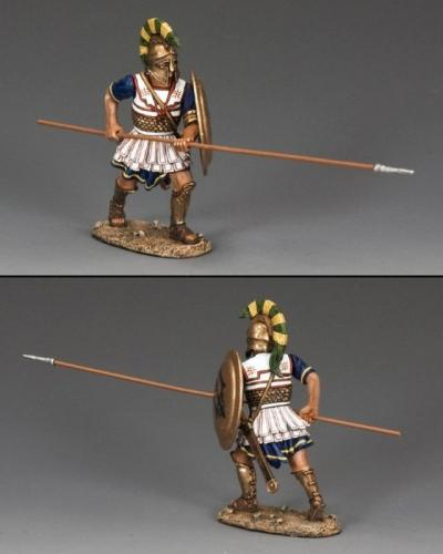 AG030 - Hoplite with Long Spear (Horizontal)