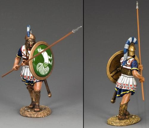 AG031 - Hoplite with Long Spear (45 Degree)