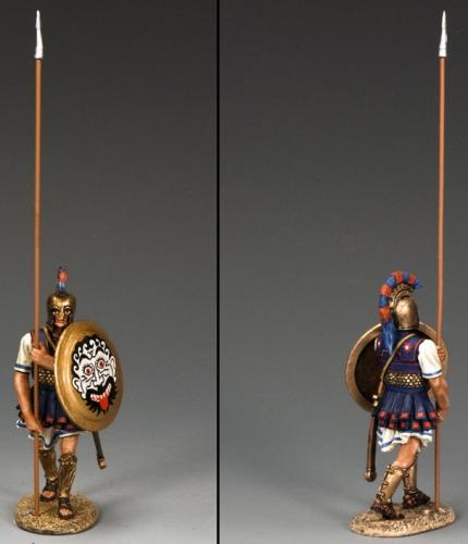 AG032 - Hoplite with Long Spear (Verical)