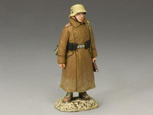 AK068 - Soldier with Grey Coat Standing