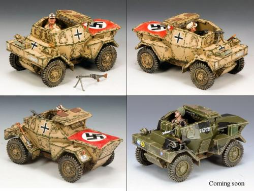 AK085 - Daimler Dingo Armoured Car (Afrika Korps version)