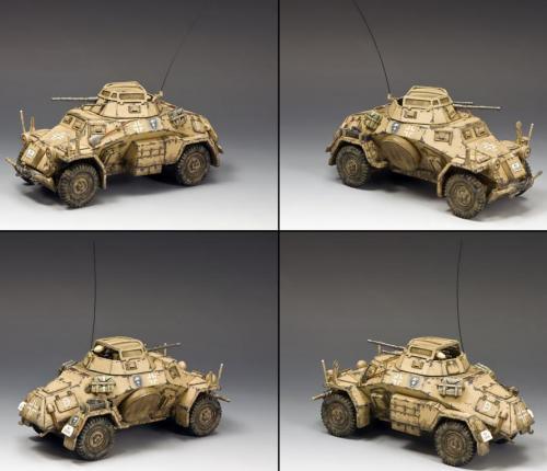 AK092 - Sd.Kfz.222 Armoured Car (North Africa-Desert)