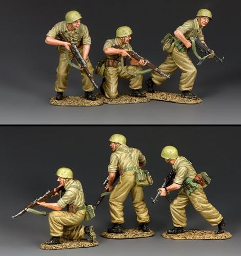 AK119 - Attack (3X figure set)