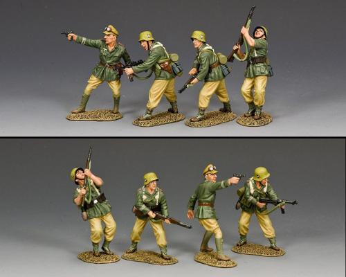 AK130 - Attacking Afrika Korps Combat Team - disponible début mars