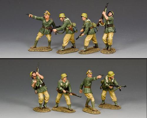 AK130 - Attacking Afrika Korps Combat Team