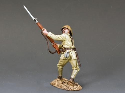 AL034 - Turkish Soldier Thrusing Bayonet