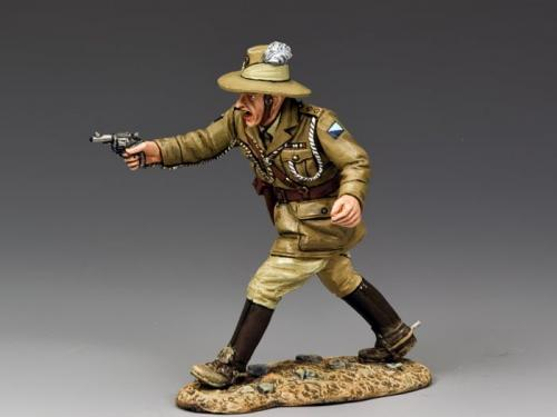 AL041 - Australian Officer with Pistol