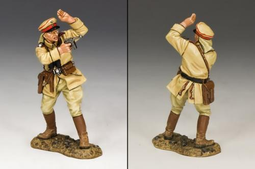 AL054 - German Officer with Pistol