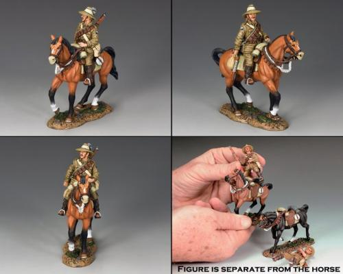 AL064 -  Ausralian Trooper with Rifle to the Left