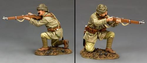 AL084 - Turkish Soldier Kneeling Reloading