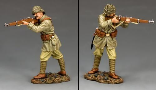 AL085 - Turkish Soldier Standing Firing