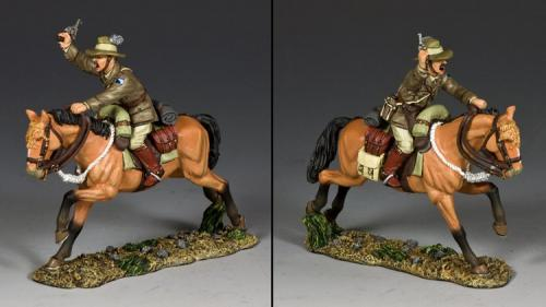 AL094 - Australian Light Horse Officer with Pistol
