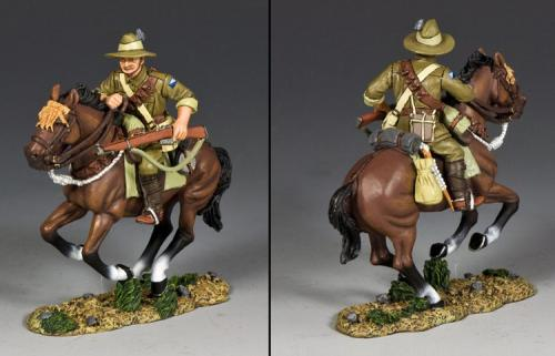 AL096 - Australian Light Horse Trooper with Rifle