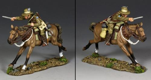 AL097 - Australian Light Horse Trooper Charging with Bayonet