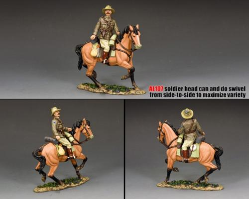 AL107 - ALH Officer Turning-in-the-saddle