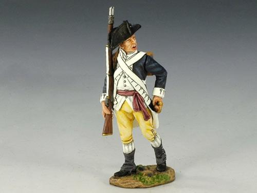 AR066 -American Sergeant with rifle marching