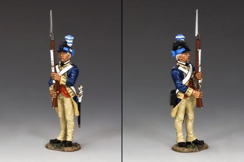 AR074 - American Guardsman Presenting Arms