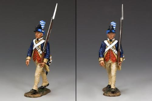 AR075 - American Guardsman Marching