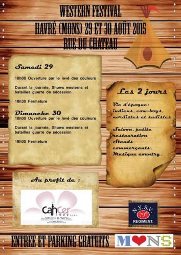 Affiche Havré 2015 programme