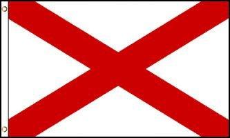 Alabama Flag - Drapeau de l'état américain de l'ALABAMA- EN STOCK