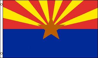 Arizona Flag - Drapeau de l'état américain de l'ARIZONA - EN STOCK