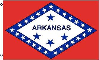 Arkansas Flag - Drapeau de l'état américain de l'ARKANSAS - EN STOCK