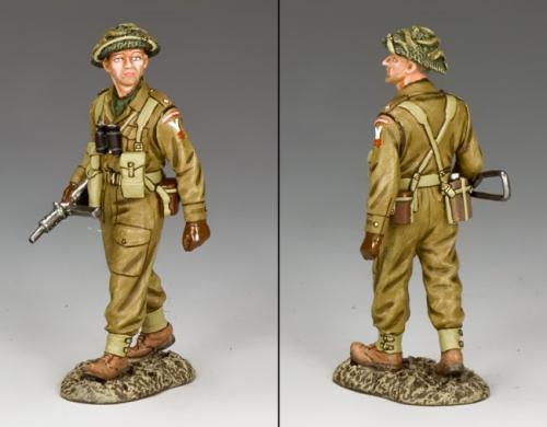 BBB003 - British Officer with Sten Gun