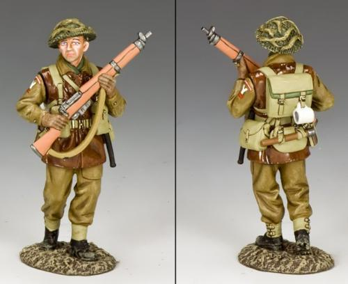 BBB004 - British Advancing Infantryman