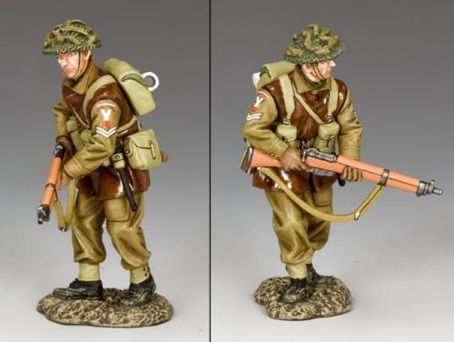 BBB008 - British Walking Rifleman (Bataille des Ardennes)