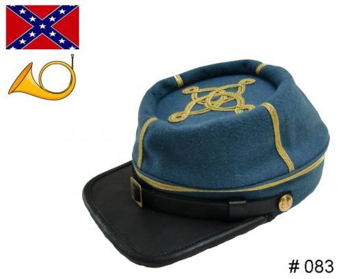 BT083 - Confederate Officers Kepi - Infantry - EN STOCK (tailles  M, L & XL)