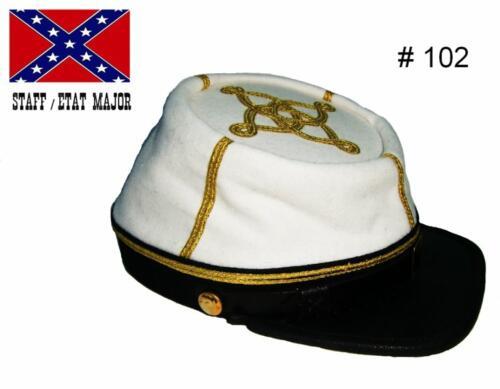 BT102 - Confederate capitaine : Staff (Etat-Major) - EN STOCK (taille M & L)