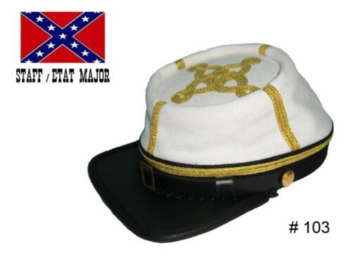 BT103 - Confederate Major, Lieutenant-Colonel & Colonel : Staff (Etat-Major) - EN STOCK (taille M & L)