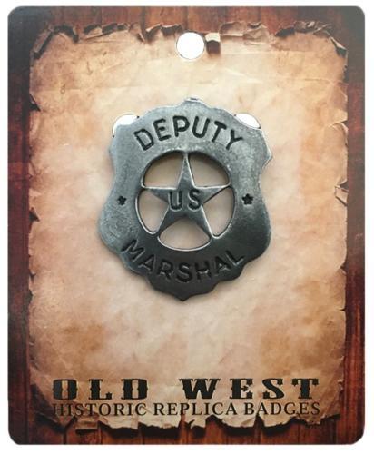 Badge - BGE-03 - Deputy US Marshall - Made in USA - EN STOCK