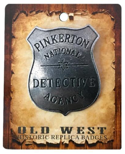 Badge -  BGE027 - Pinkerton National - Made in USA -  Momentanément hors stock