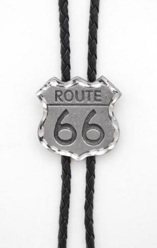 Bolo Tie - BT-66 - Route 66 Bolo Tie Made in USA - EN STOCK