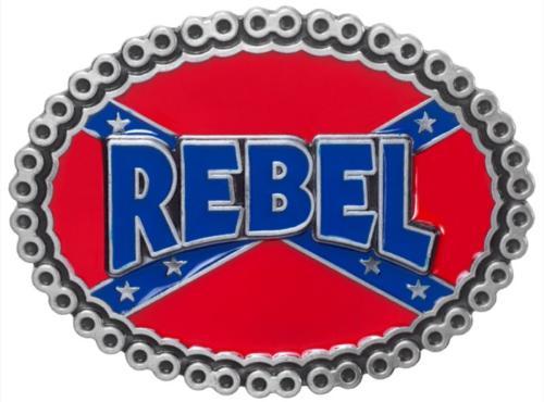 Boucle de ceinture - BU-1038 - Rebel Flag Belt Buckle - EN STOCK