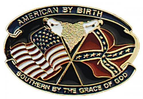 Boucle de ceinture - Belt Buckle ME-26 - American by Birth Southern Grace Buckle - Made in USA - EN STOCK