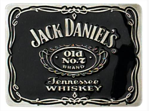 Boucle de ceinture - G-7768 - Jack Daniel's Old N°7 Label Pewter Belt Buckle 3 -  EN STOCK